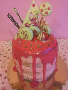My first drip cake