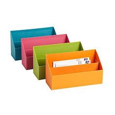 Our Stockholm Letter Sorter helps organize incoming and outgoing mail on a desk or countertop.  It perfectly coordinates with our entire Stockholm collection, including our Pencil Cup, Magazine File, Office Storage Boxes and Desktop File.