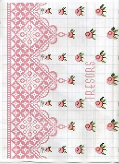 Thrilling Designing Your Own Cross Stitch Embroidery Patterns Ideas. Exhilarating Designing Your Own Cross Stitch Embroidery Patterns Ideas. Cross Stitch Love, Cross Stitch Borders, Cross Stitch Flowers, Cross Stitch Charts, Cross Stitch Designs, Cross Stitching, Cross Stitch Patterns, Ribbon Embroidery, Cross Stitch Embroidery