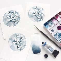 Enjoying some watercolour play on this wet Sunday. I'll make these up in to cards at some point. I used the Circle Leaves… Watercolor Leaves, Watercolour, Sales Motivation, Leaf Drawing, Diy Cards, Handmade Cards, Simon Says Stamp, Drawings, Sunday