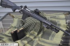 ruger gunsite scout. Ultimate survival rifle, would love to have one of these for backpacking trips.