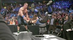 Then, a second one on the announce table!