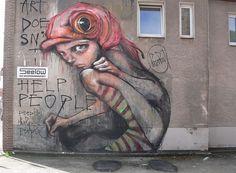 Graffiti Murals, Street Art Graffiti, Urban Street Art, Urban Art, Amazing Street Art, City Landscape, Street Artists, Art And Architecture, Cool Art