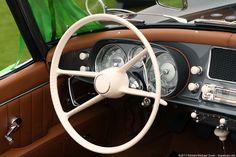 1957 BMW 507 Series II Roadster Interior (original steering wheel)