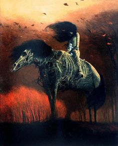 Zdzisław Beksiński. Polish painter, photographer and sculptor, specializing in the field of utopian art.
