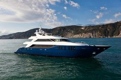 """Cape 4  Charters """"m/y Ouranos""""  #yacht #charter #Greece"""
