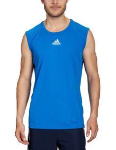 adidas - Camiseta de running para hombre, tamaño M, color prime azul #camiseta #realidadaumentada #ideas #regalo