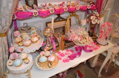 New Brenda Walton dies for Sizzix, available April 2013: Shoes, teacups and cupcakes.
