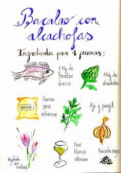 Bacalao con alcachofas de Viernes Santo | Gastroandalusi