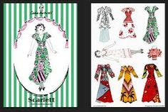 Celia Birtwell fashion fridge magnets - Retro to Go Celia Birtwell, Ossie Clark, Surface Design, Stars, Retro, Pattern, Women's Fashion, Google Search, Sterne