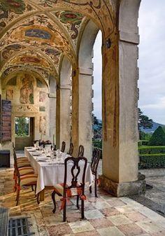 Palladio's Villa Emo Veneto,Italy as seen on linenandlavender.net - http://www.linenandlavender.net/p/a-collection-of-favorites.html