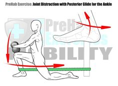 Joint Distraction Exercise for the Ankle #PreHabExercises Improve Mobility and performance with a Distraction Exercise for the Ankle! Ankle Mobility is critical as the foot is the platform from which all Human Movement operates on and a mobile ankle only improves the functional Range of Motion that one can operate through. #PreHab #PrepareToPerform Here's How: ANKLE: KNEELING LUNGE DORSIFLEXION PRONTATION & SUPINATION Benefits: This Joint Distraction exercise creates more space in the joint…