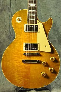 Gibson Custom Shop 2015 True Historic 1958 Les Paul Reissue Vintage Lemon Burst S/N 8 5226
