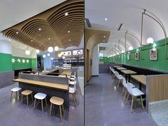 Juanxiaoxian canteen by The Swimming Pool Studio, Beijing – China » Retail Design Blog