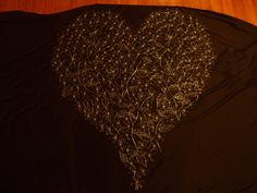 Heart Commission by Sandra McLintock - made from wire - long and across. Wire Art, My Arts, Heart, Women, Fashion, Moda, Fashion Styles, Fashion Illustrations, Wire Work
