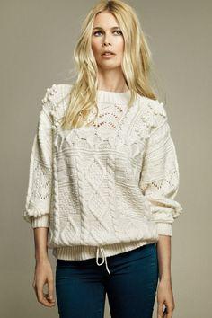 Claudia Schiffer for TSE - Cashmere, Knitwear, Designer Collaborations
