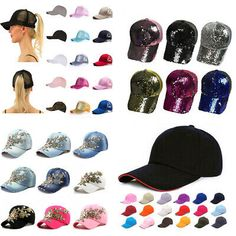 Qraftsy Plain Polyester Unisex Baseball Cap Adjustable Blank Hat with Solid