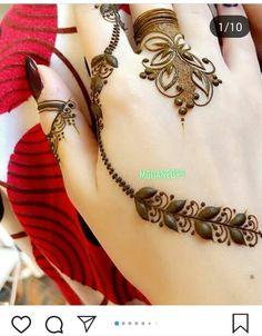 Modern Henna Designs, Khafif Mehndi Design, Finger Henna Designs, Henna Art Designs, Mehndi Designs 2018, Mehndi Designs For Girls, Mehndi Designs For Beginners, Mehndi Design Pictures, Mehndi Designs For Fingers