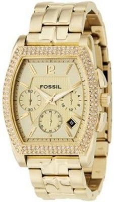 a3f9539e0d2 Relógio Fossil Women s Chronograph Champagne Dial Watch FS4442  Fossil  Relógio