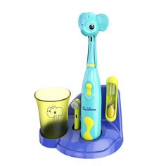 Keep your little one's smile happy and healthy with this Brusheez children's electronic toothbrush set. Little Girl Toys, Toys For Girls, Little Ones, Kids Electric Toothbrush, Kids Dentist, Sand Timers, Sink Countertop, Elephant, Giraffe