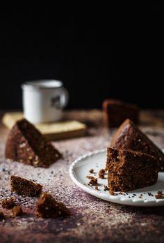 torta al cacao e pompelmo