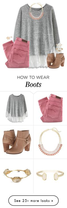 """people who can draw a star without having crossing lines in the middle really have their life together."" by kaley-ii on Polyvore featuring Chicwish, Nobody Denim, Lane Bryant, Cole Haan, Bourbon and Boweties and Kendra Scott"
