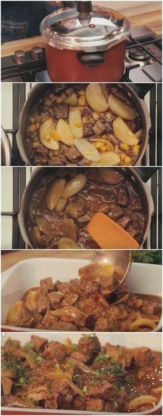 Carne de Panela de 15 Minutos ( A MAIS SABOROSA DE TODAS ) #carne #panela #gastronomia #comida #sobremesas #bolos #pães #receita #receitas