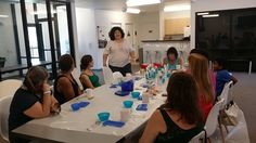 Crafty Chica Kathy Cano-Murillo visits the Art Center and teaches our first ceramics painting class! Thank you I Love to Create for making the Charity Wings Art & Craft Center a stop on her tour! Ceramic Painting, You And I, Charity, Wings, Arts And Crafts, Events, Ceramics, Teaching, My Love