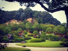 Adachi Museum, Shimane, Japan 寝っ転がりたい願望あり * @いつかの足立美術館