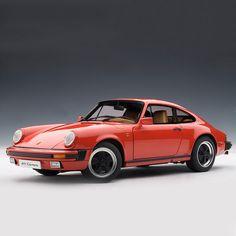 Porsche 911 Carrera - Orange - 1988