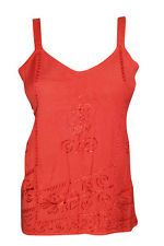 HIPPIE GYPSY TANK TOP RED EMBROIDERED STRAPPY CAMI FASHION WOMEN'S TOPS S in Clothing, Shoes & Accessories, Women's Clothing, Tops & Blouses | eBay  http://stores.ebay.com/mogulgallery/TOPS-BLOUSES-/_i.html?_fsub=901626119&_sid=3781319&_trksid=p4634.c0.m322