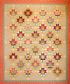 Lolli Poppies PDF quilt pattern. $5.00, via Etsy.