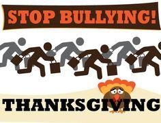 bullying, thanksgiving, boycott, black friday