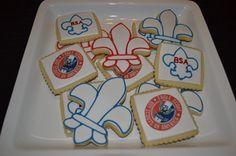Boy Scout Cookies, edible image, fleur de lis #cheapcookiecutters