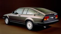 """Alfa Romeo Alfetta GTV 6 was a big step for me - grand tourimo veloce - not just a small """"sporty"""" car as my previous Alfas. Alfa Gtv, Alfa Romeo Gtv6, Automobile, Pretty Cars, Performance Cars, Car And Driver, Car Manufacturers, Concept Cars, Cars And Motorcycles"""