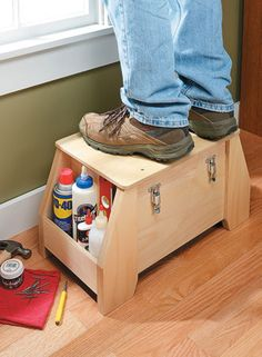 Utility Tool Tote   Woodsmith Plans