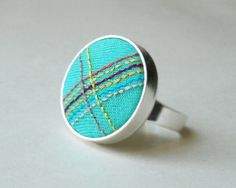 Rainbow Embroidery Ringy by The Whirlwind