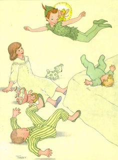 peter pan vintage illustrations - Yahoo Image Search Results