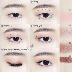 Eye Makeup Tips – How To Apply Eyeliner – Makeup Design Ideas Korean Makeup Look, Asian Eye Makeup, Eye Makeup Tips, Makeup Inspo, Makeup Inspiration, Beauty Makeup, Makeup Products, Monolid Eyes, Monolid Makeup