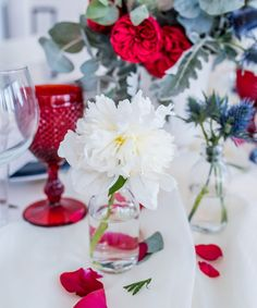 This Ultra-Chic Bedford, NY 4th Of July Party Will Have You Seeing Stars (And Stripes) - Wilkie Blog! - White flower