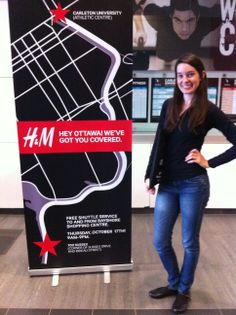 One of our great staff members working a H and M event. We are told all of our staff had a great time working for this client and we look forward to working with them again soon. H and M event in Canada #event #eventstaff #promotions #canada   http://www.nationaleventstaffing.com/