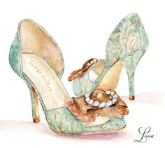 BHLDN illustrated shoes