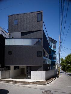 "Tokyo Balconies by KINO Architects ""Location: Tokyo, Japan"" 2010"