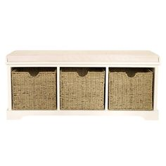 Storage seat from Dunelm Mill   Hallway   PHOTO GALLERY   Style at Home   Housetohome