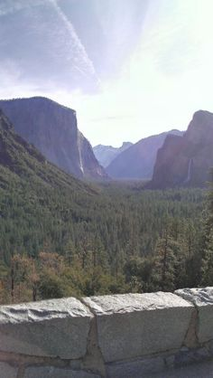 Scenery, waterfalls...That's Yosemite!