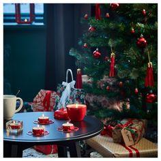 VINTERFEST Vela perfume bote metal - manzano, manzana canela y manzana rojo - IKEA Ikea Christmas, Christmas Tree, Canned Apples, Handmade Home Decor, Red Apple, Christmas Pictures, Perfume, Tea Light Holder, Christmas Inspiration