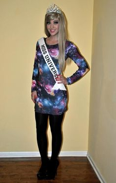 23 Halloween Costume Ideas For The Pun-Lover In You | Miss Universe and Freudian Slip are my favorites