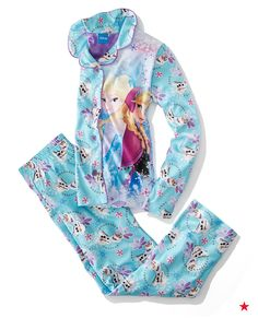 This matching pajama set is the perfect gift for the Frozen fan on your list.