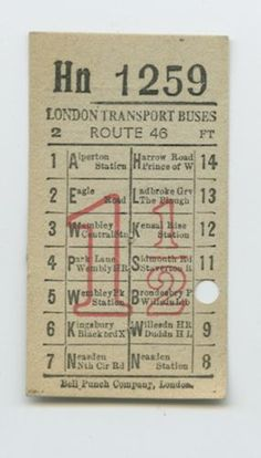 1000 Images About Bus Ticket On Pinterest Bus Tickets