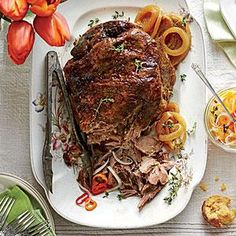 Three family dinners start with this one recipe for succulent and tender 5-Ingredient Slow-Cooker Pulled Pork.